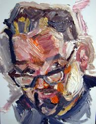 Portrait Self By Jose Rodrigues Art By Joselrodrig