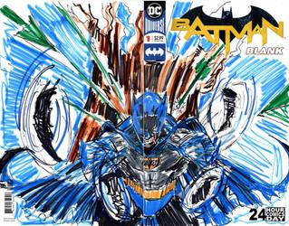 batman blank 1 II by jose rodrigues art