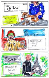 catholic saints 2 page 3 by jose rodrigues art