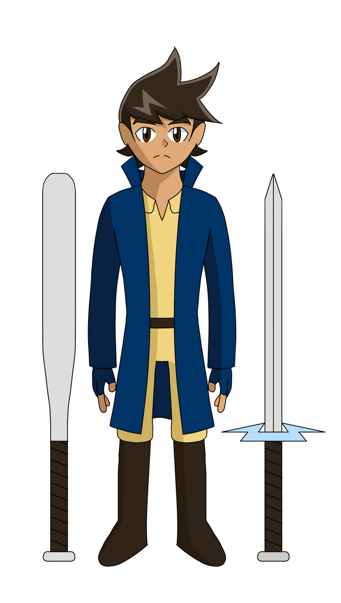 Young Rock Sam w/ Sword and Bat by Its-Joe-Time