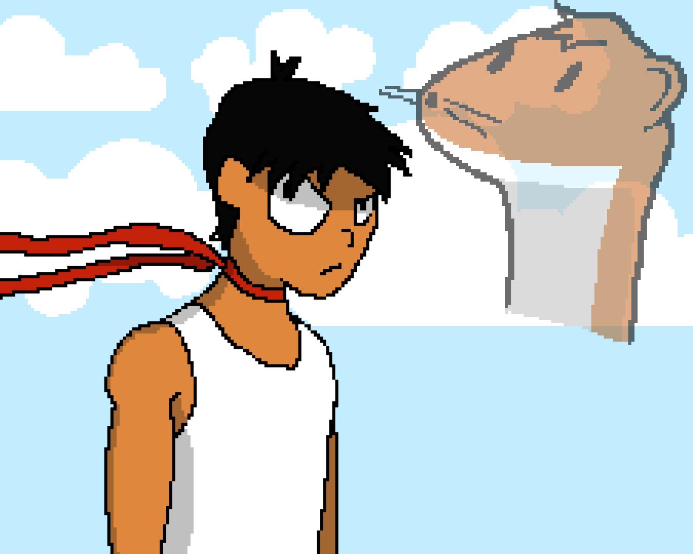 Jubei And Mai - Pixel Version by Its-Joe-Time