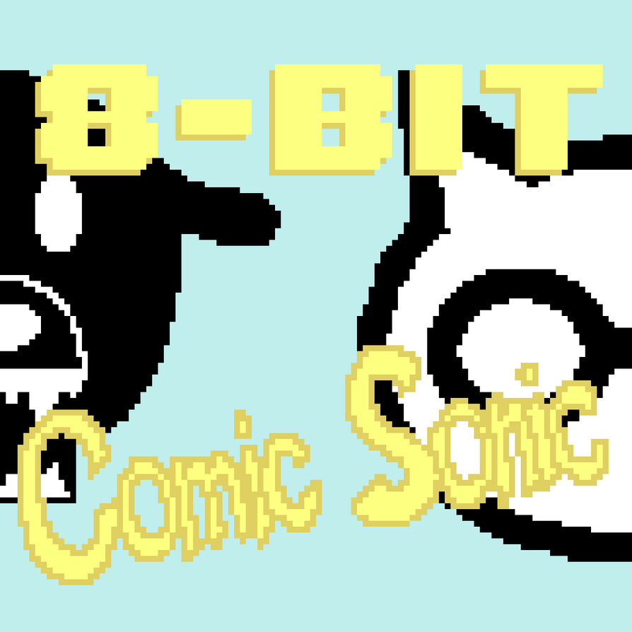 TRACK ART: Comic Sonic - the pillows [8-Bit Cover] by Its-Joe-Time