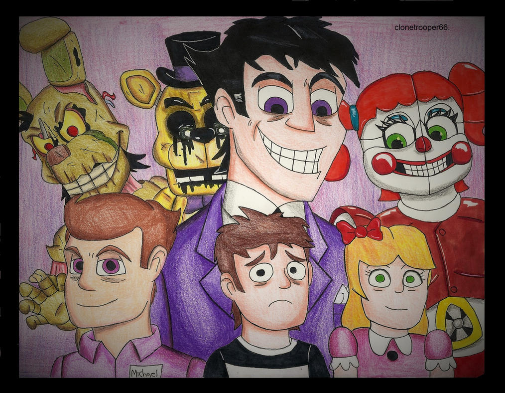 The Afton Family By Clonetrooper66