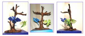 Dragon Display Tree