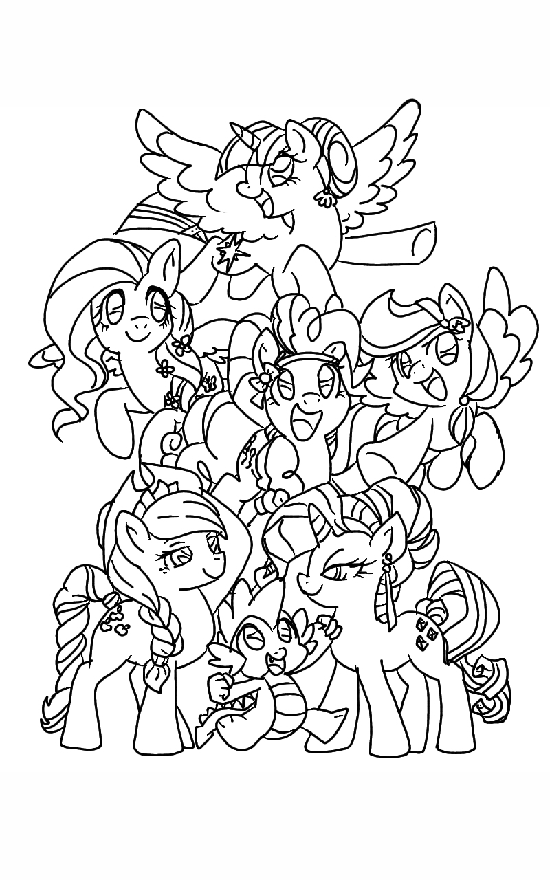 mlp coloring pages rainbow dash images