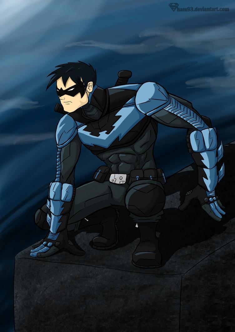 Nightwing By Shamserg On DeviantArt
