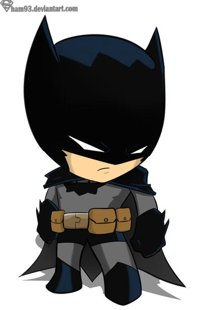 Batman chibi by shamserg on DeviantArt