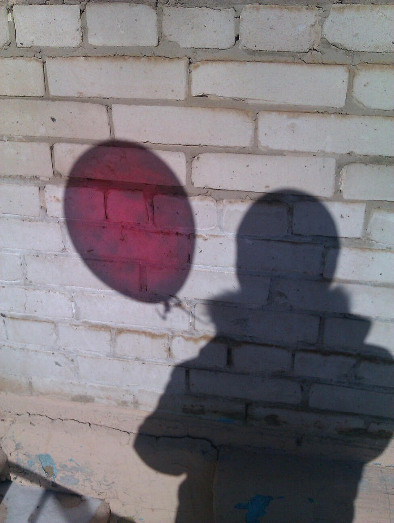 Balloon shadow by shamserg