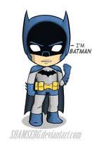 Little Batman by shamserg