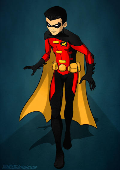 Robin Tim Drake YJ by shamserg on DeviantArt