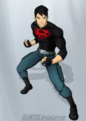 Superboy by shamserg