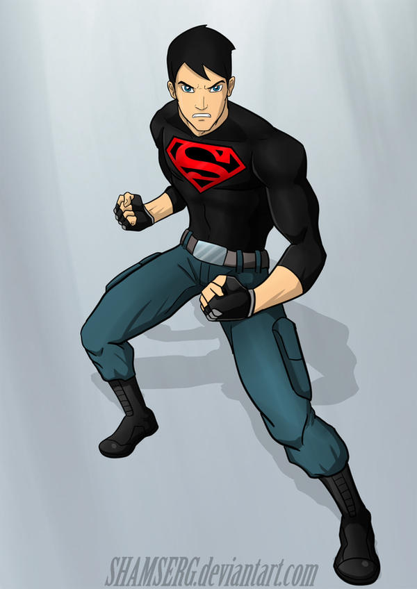 Superboy by shamserg on DeviantArt