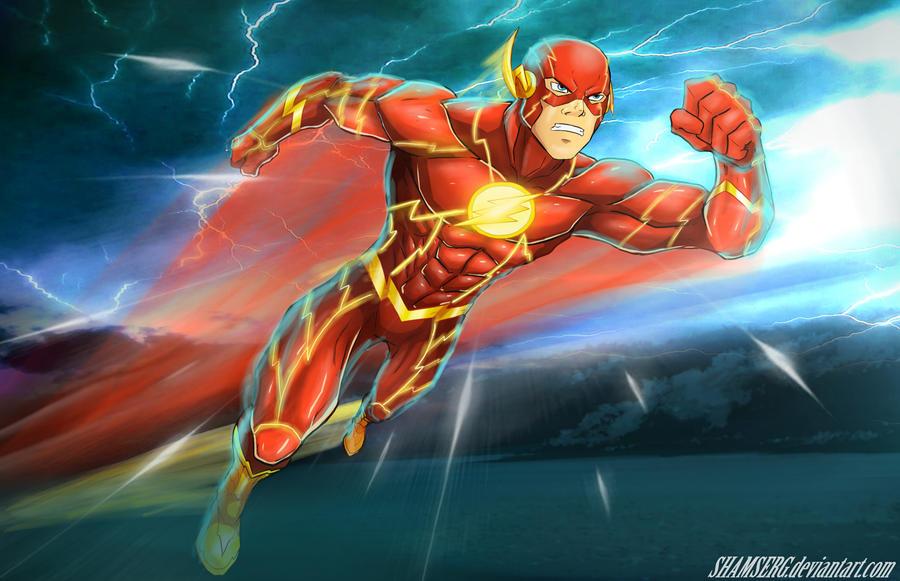 Flash - The Fastest Man Alive by shamserg