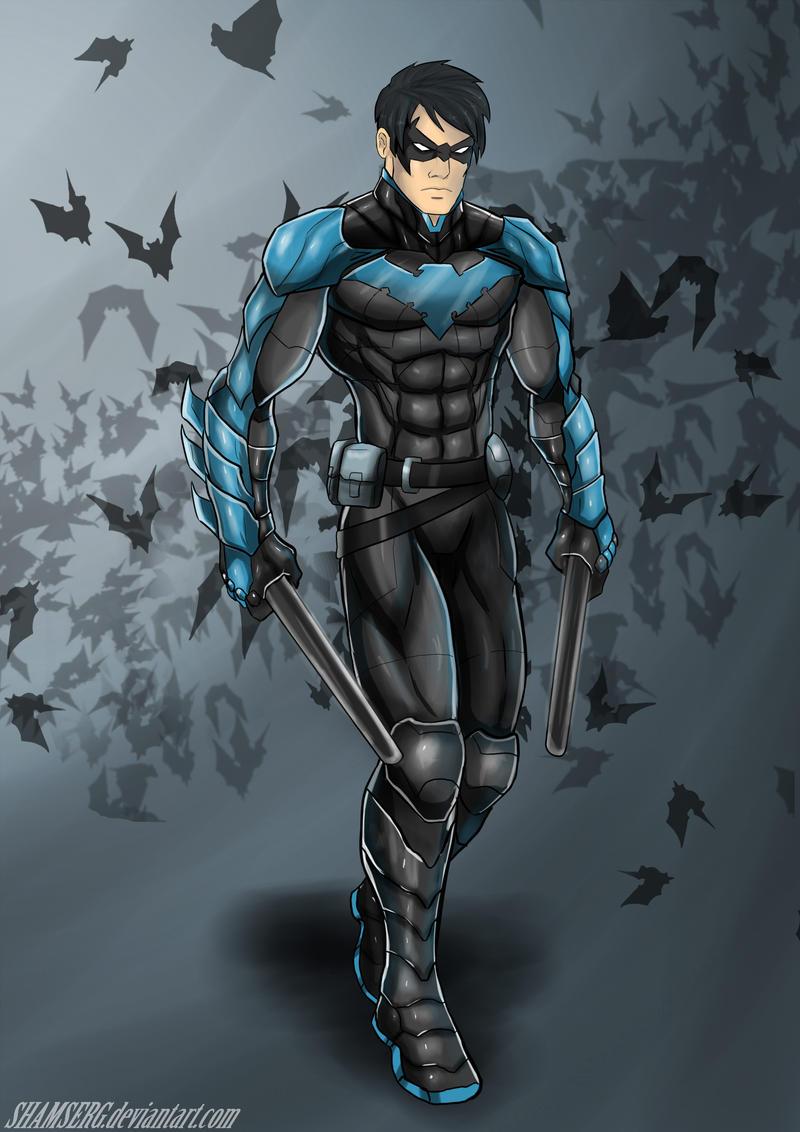 Nightwing by shamserg Nightwing