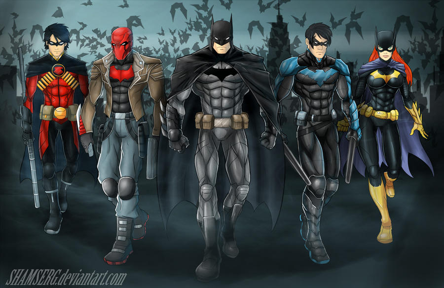 Bat Family by shamserg