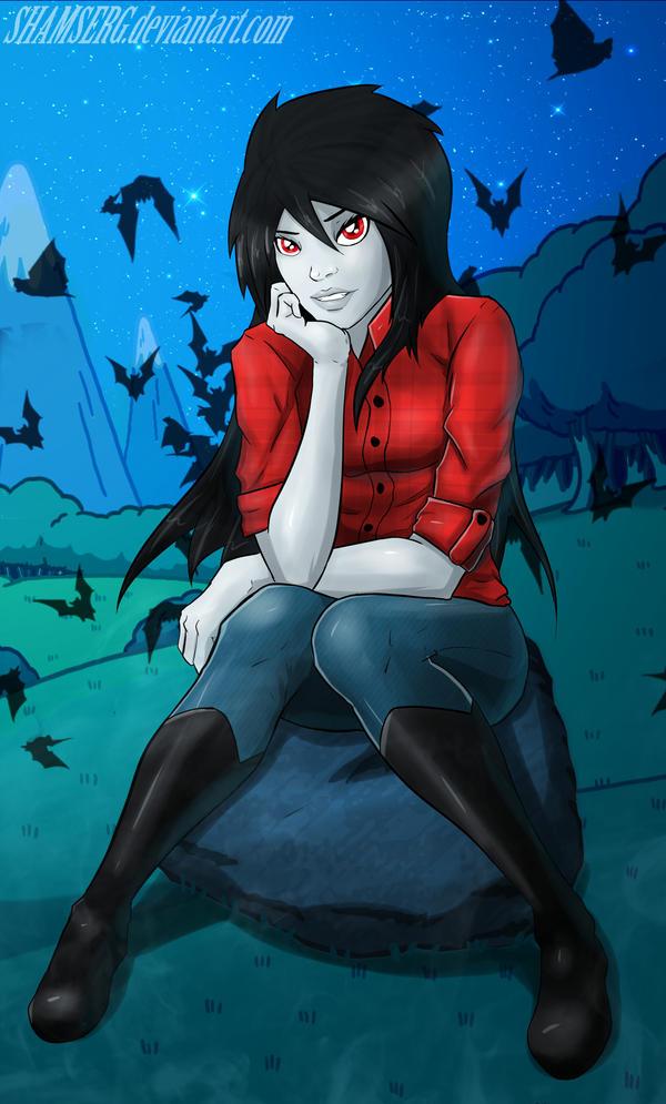 Marceline :3 by shamserg