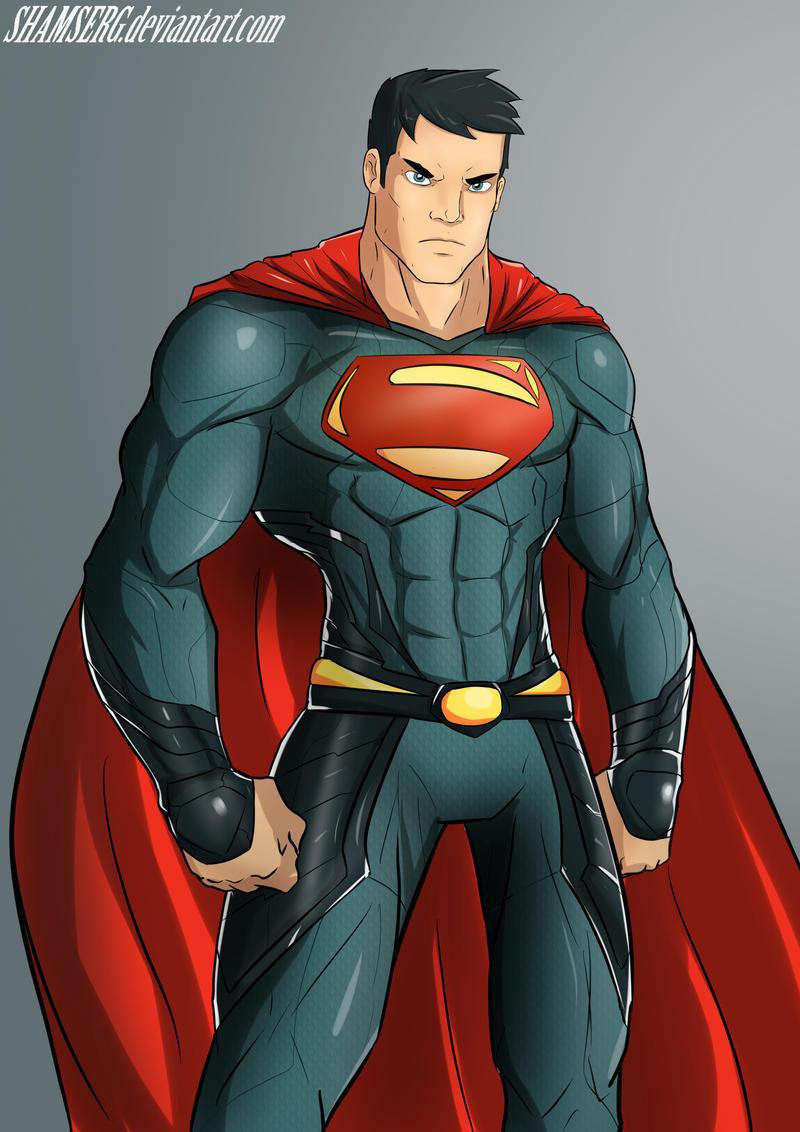 Superman by shamserg