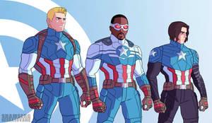 Captain America Corps