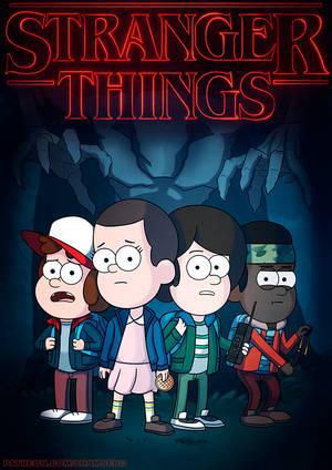 Stranger Things  Gravity Falls style  by shamserg