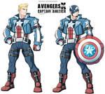 Avengers Xrd - Captain America