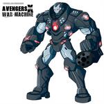 Avengers Xrd - War Machine