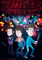 Stranger Things |Gravity Falls style| 2