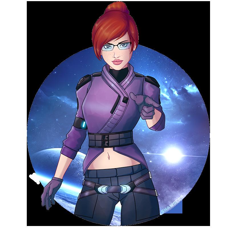 Mass Effect: Oskar Ryder by shamserg