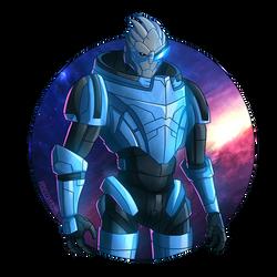 Mass Effect: Garrus by shamserg