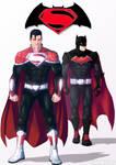 Batman / Superman commission