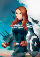 Captain America by shamserg