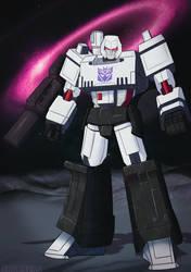 Megatron commission by shamserg