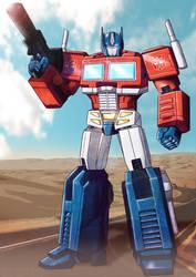 Optimus Prime commission by shamserg