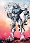 Lio Convoy - Beast Wars - commission