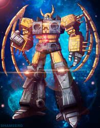 Unicron - Transformers commission by shamserg