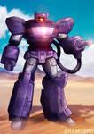 Shockwave - Transformers commission