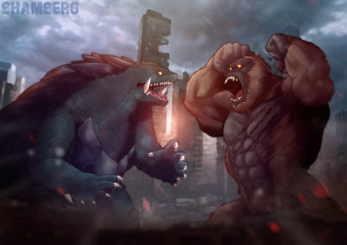 Gamera vs Kong