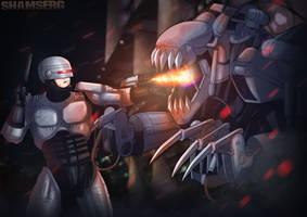 Robocop vs the Warbeast