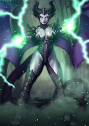 Maleficent, The Dragon Witch