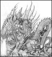 Quiserraica the Kaiju Predator by ChuckWalton