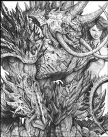 Dreadguard OConnor with Brutus by ChuckWalton