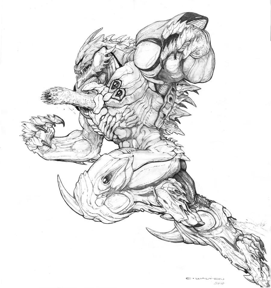 SPLICERS Metamorph by ChuckWalton