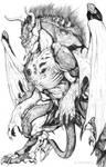 SPLICERS Metamorph Demon