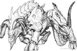 SPLICERS Metamorph Battleram by ChuckWalton