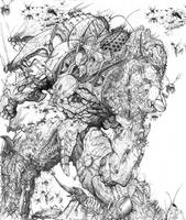 SPLICERS Swarmlord Madness by ChuckWalton