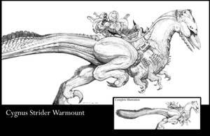 SPLICERS Cygnus Strider by ChuckWalton