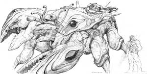 SPLICERS Evolved Leviathan