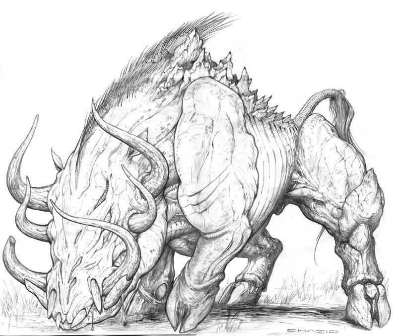 Vire Boar by ChuckWalton