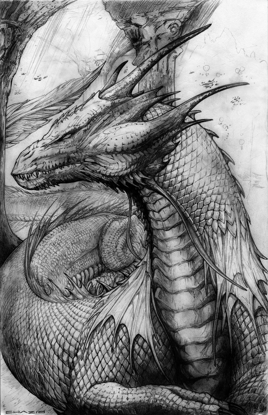 Sand Dragon by ChuckWalton on DeviantArt
