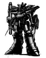 Rifts Shadow Boy Power Armor by ChuckWalton