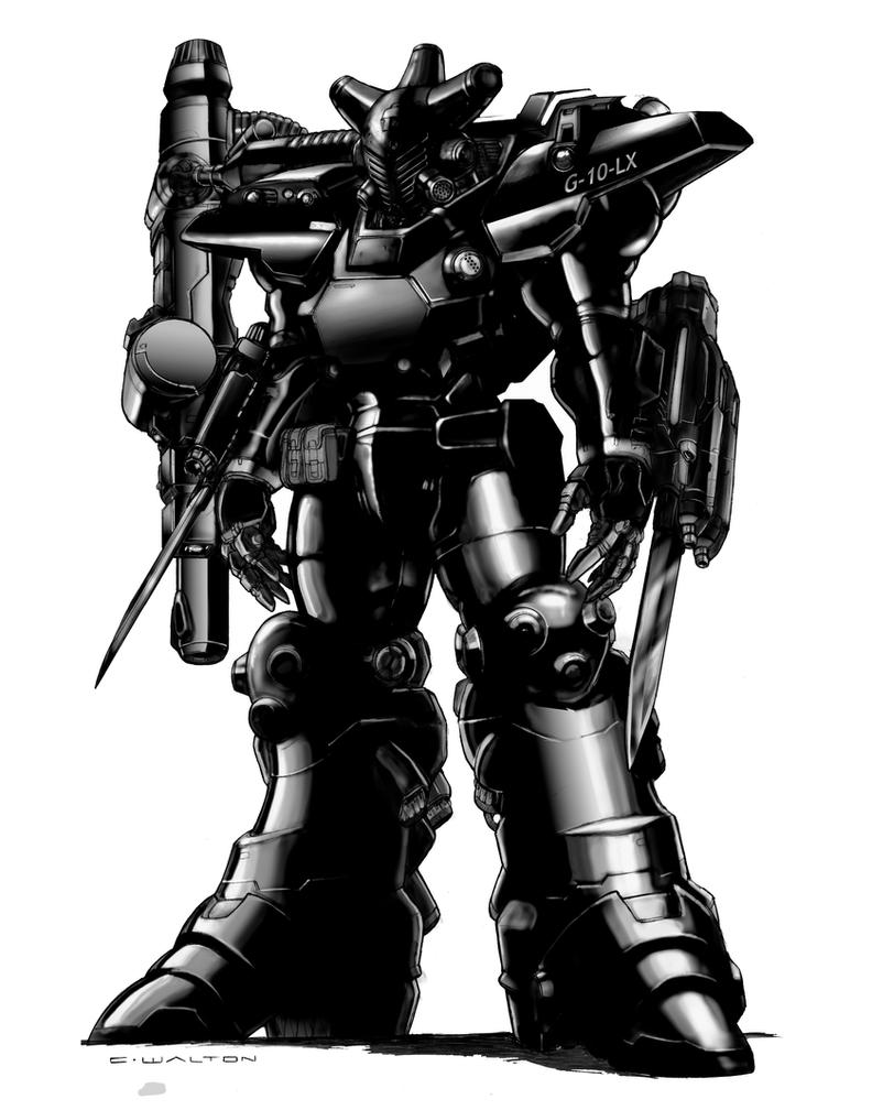 Rifts Shadow Boy Power Armor by ChuckWalton